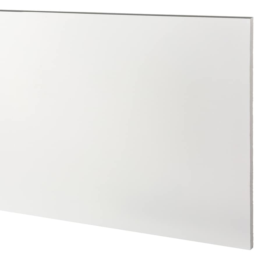 AZEK (Actual: 0.63-in x 15.25-in x 12-ft) Traditional PVC Board