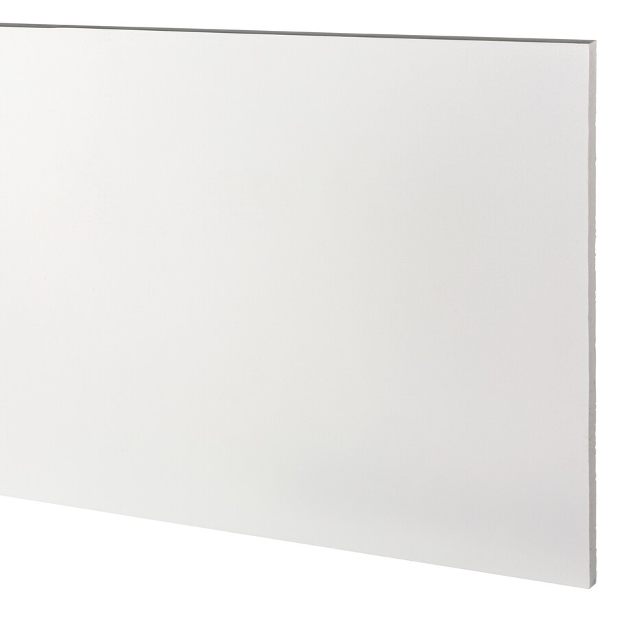 AZEK (Actual: 0.63-in x 15.25-in x 18-ft) Traditional PVC Board