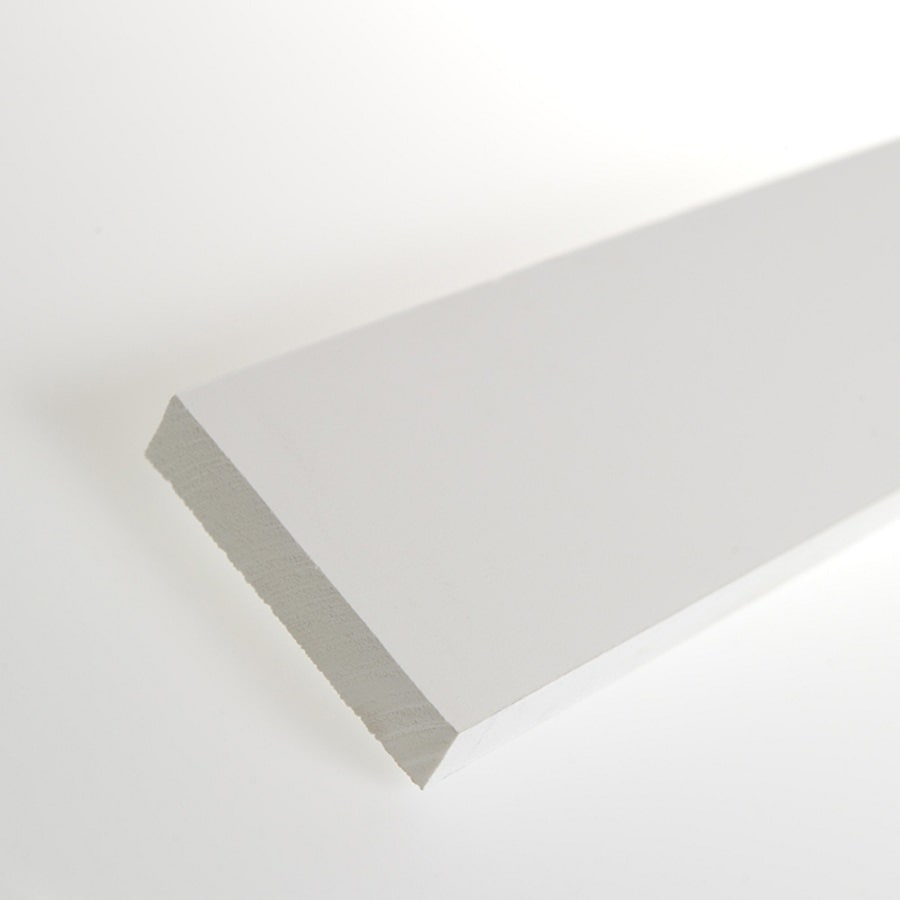 AZEK (Actual: 0.75-in x 3.5-in x 12-ft) Traditional PVC Board