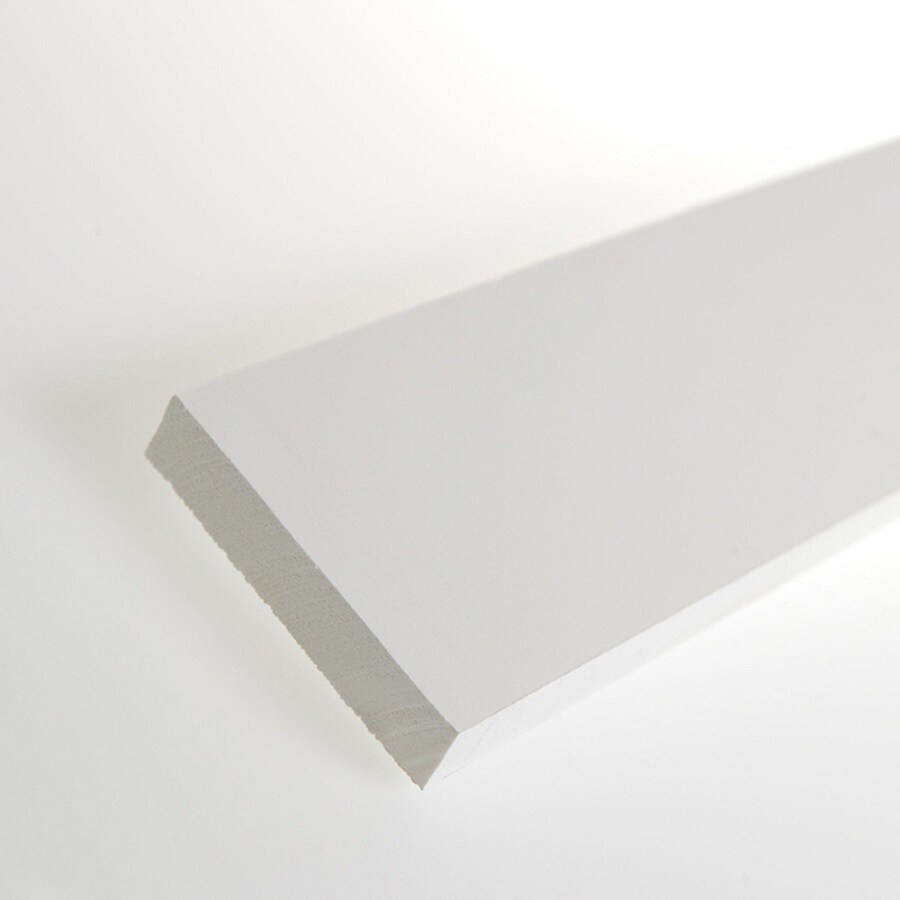 AZEK (Actual: 0.75-in x 3.5-in x 18-ft) Traditional PVC Board