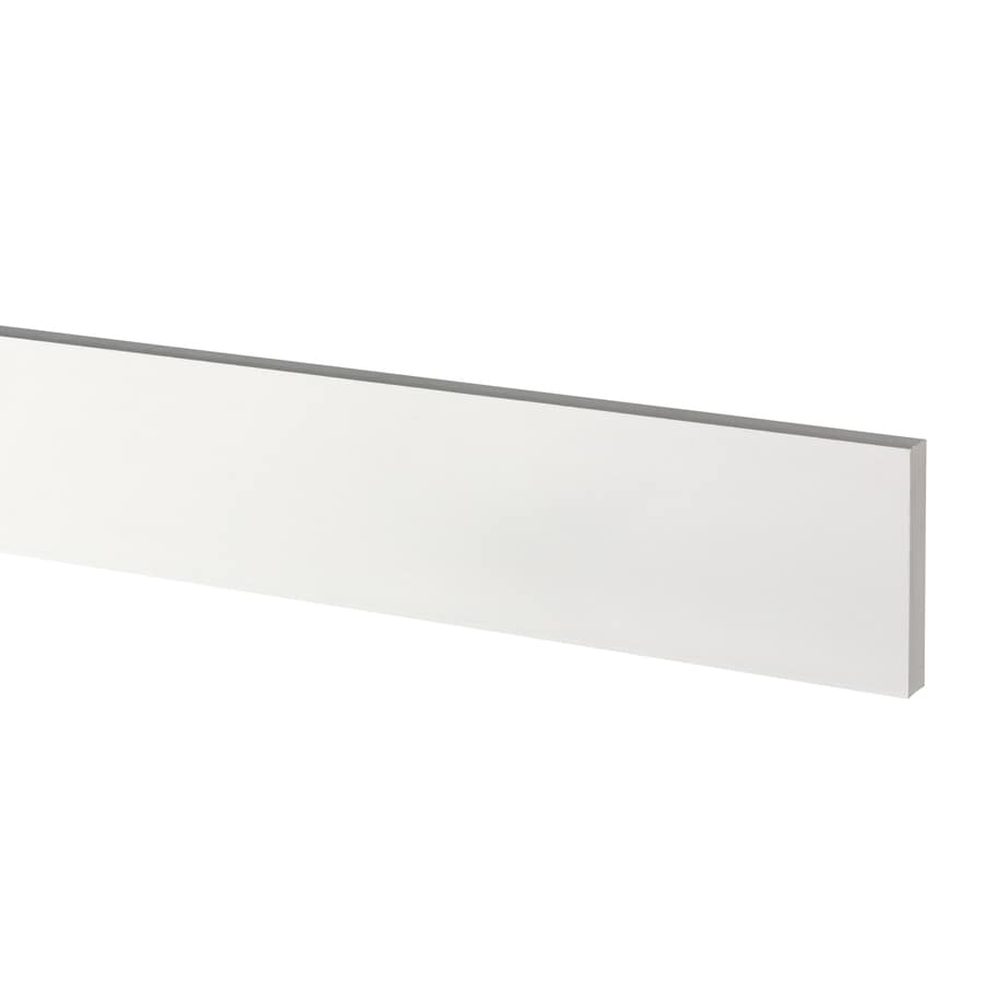 AZEK (Actual: 0.75-in x 4.5-in x 18-ft) Traditional PVC Board
