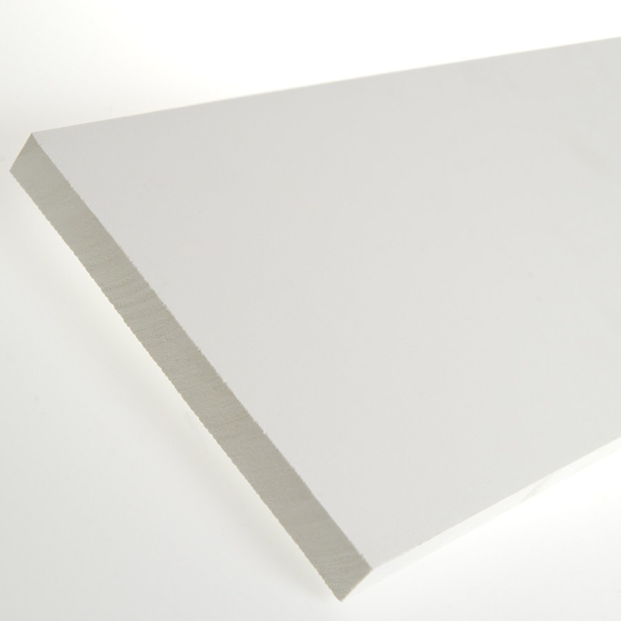 AZEK (Actual: 0.75-in x 7.25-in x 18-ft) Traditional PVC Board