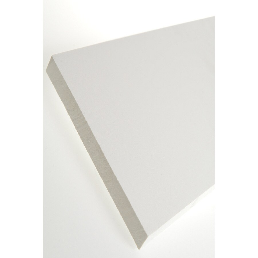 AZEK (Actual: 0.75-in x 9.25-in x 18-ft) Traditional PVC Board