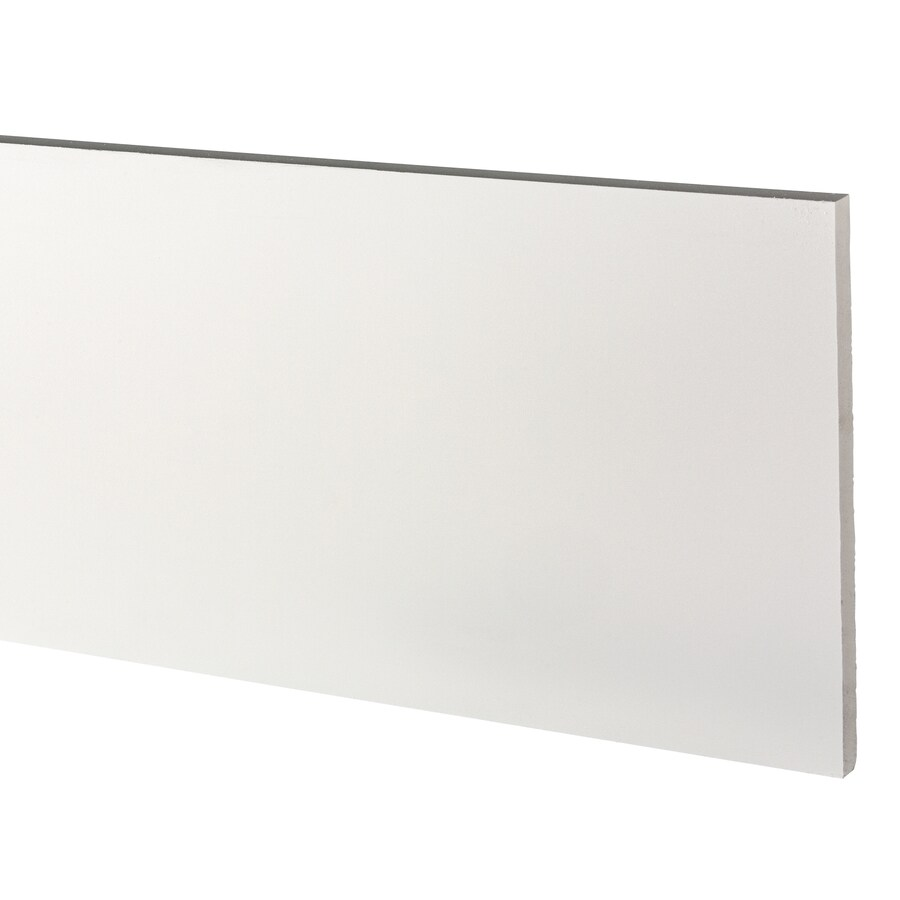 AZEK (Actual: 0.75-in x 11.25-in x 12-ft) Traditional PVC Board