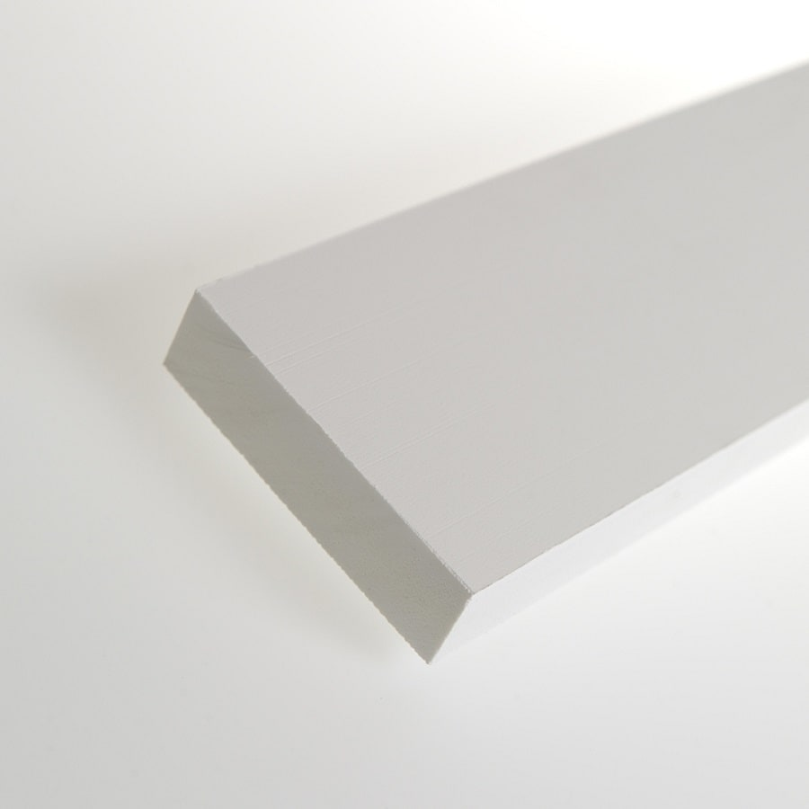 AZEK (Actual: 1-in x 3.5-in x 20-ft) Traditional PVC Board