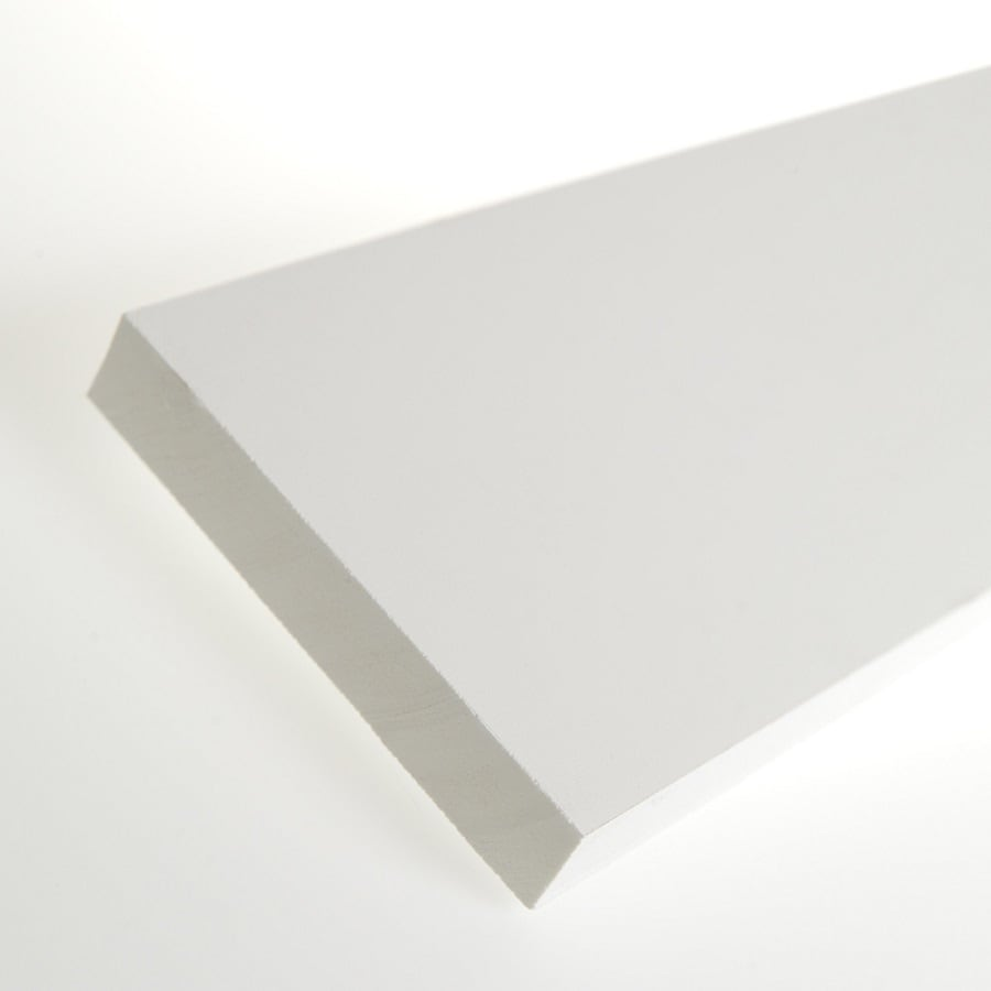 AZEK (Actual: 1-in x 5.5-in x 18-ft) Traditional PVC Board