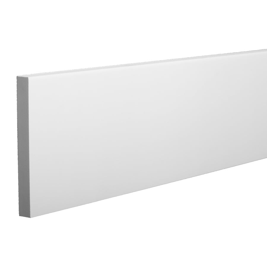 AZEK (Actual: 1-in x 7.25-in x 18-ft) Traditional PVC Board