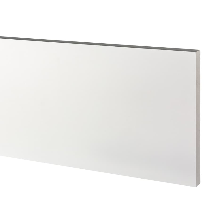 AZEK (Actual: 1-in x 11.25-in x 12-ft) Traditional PVC Board