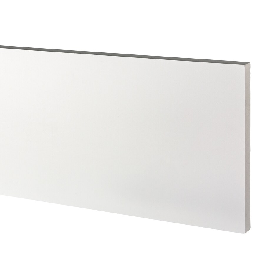 AZEK (Actual: 1-in x 11.25-in x 18-ft) Traditional PVC Board