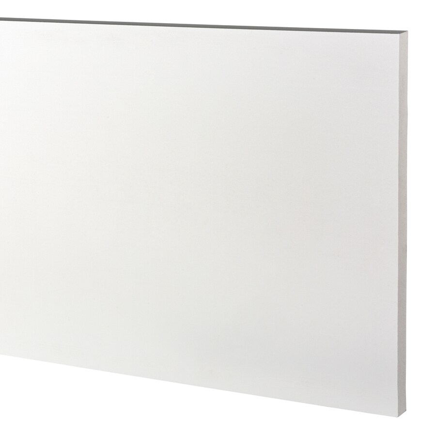AZEK (Actual: 1-in x 15.25-in x 18-ft) Traditional PVC Board