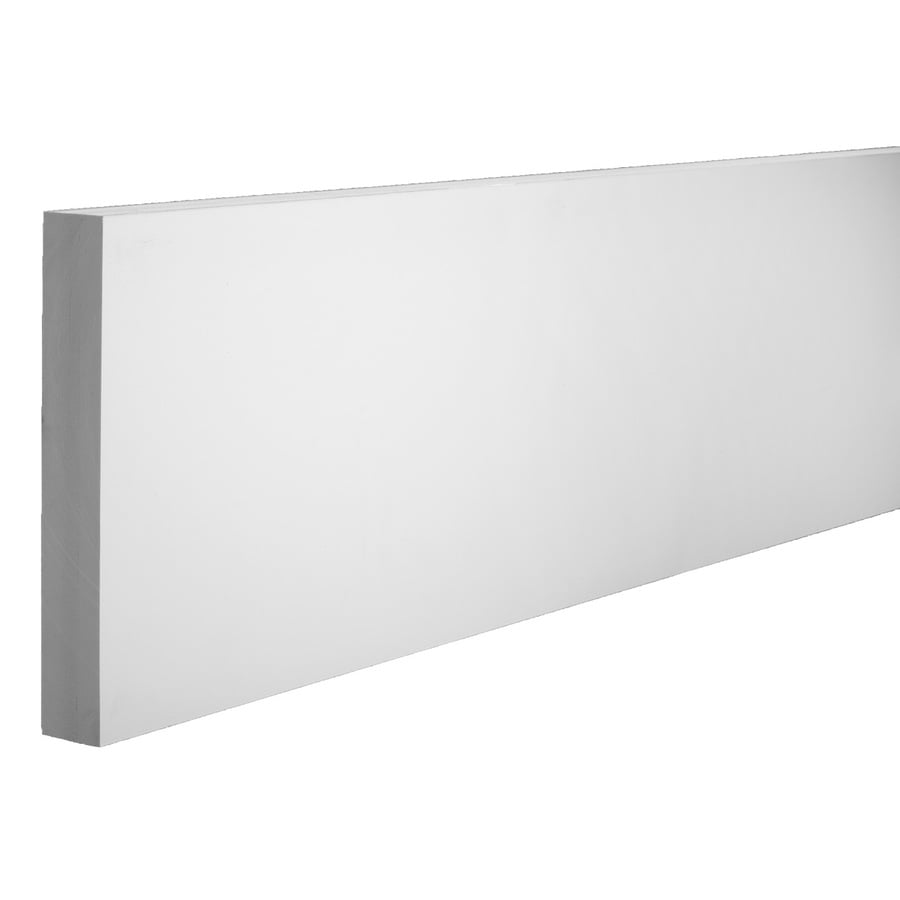 AZEK (Actual: 1.25-in x 9.25-in x 18-ft) Traditional PVC Board