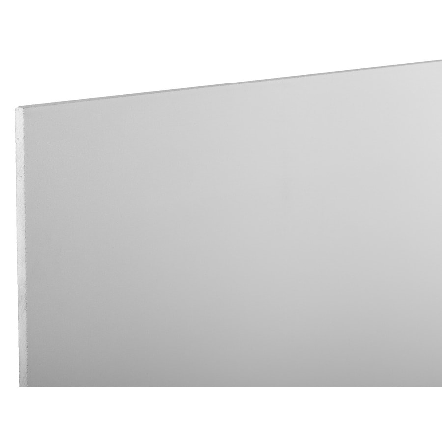 Faux Brick Wall Panels From Home Depot: AZEK Traditional 48-in X 12-ft Smooth White Plastic