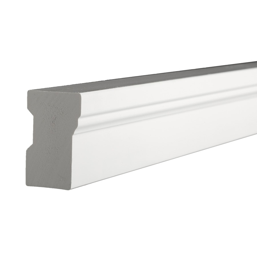 AZEK 1.25-in x 17-ft Interior/Exterior Prefinished PVC Mullion Window Moulding