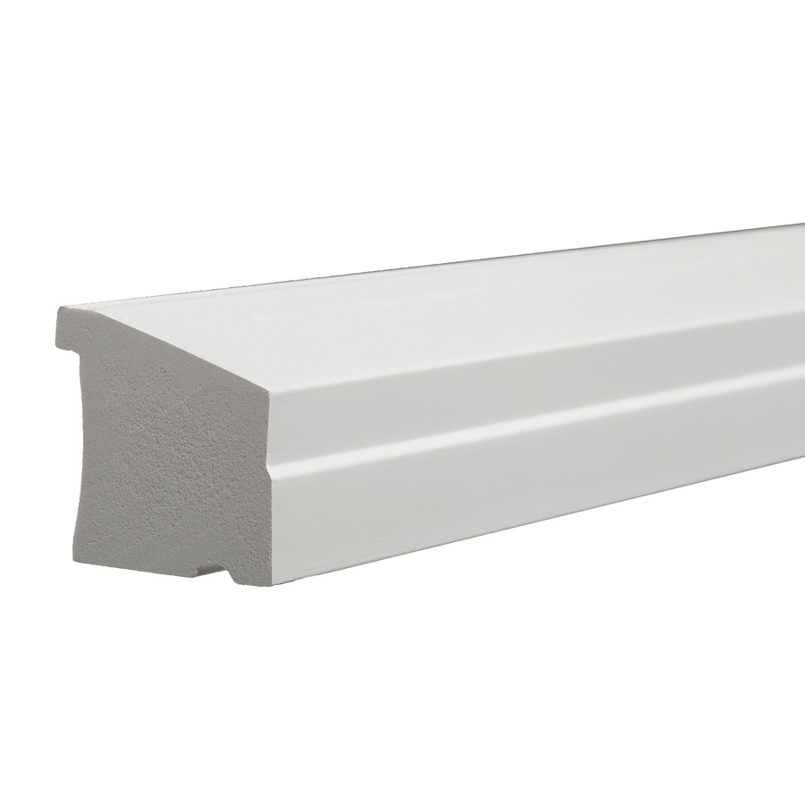 Shop Azek 1 5 In X 16 Ft Interior Exterior Prefinished Pvc Sill Nose Window Moulding At