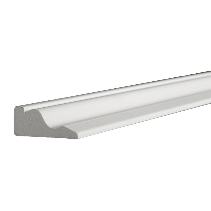 AZEK 0.69-in x 16-ft Interior/Exterior Prefinished PVC Mullion Window Moulding