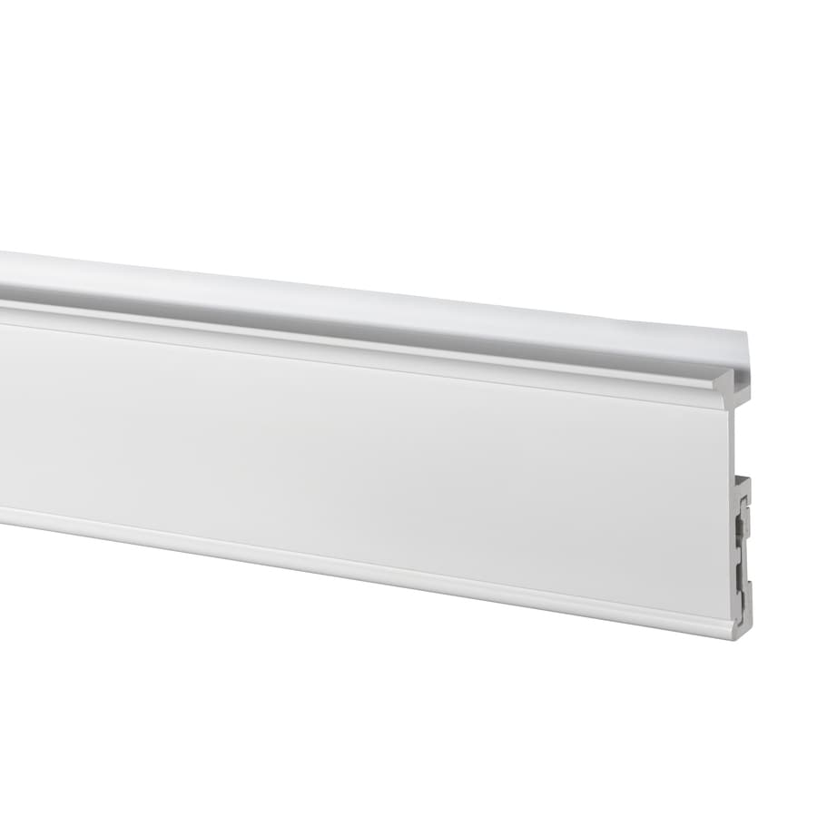 AZEK (Actual: 1.25-in x 5.5-in x 18-ft) Traditional PVC Board