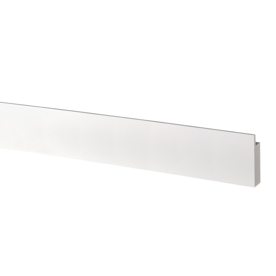 AZEK (Actual: 1-in x 3.5-in x 18-ft) Traditional Shiplap PVC Board