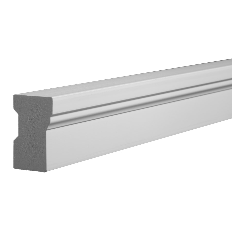 Shop Azek 2 In X 17 Ft Interior Exterior Prefinished Pvc Stop Window Moulding At
