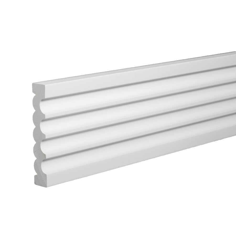 AZEK 0.94-in x 16-ft Interior/Exterior Prefinished PVC Mullion Window Moulding