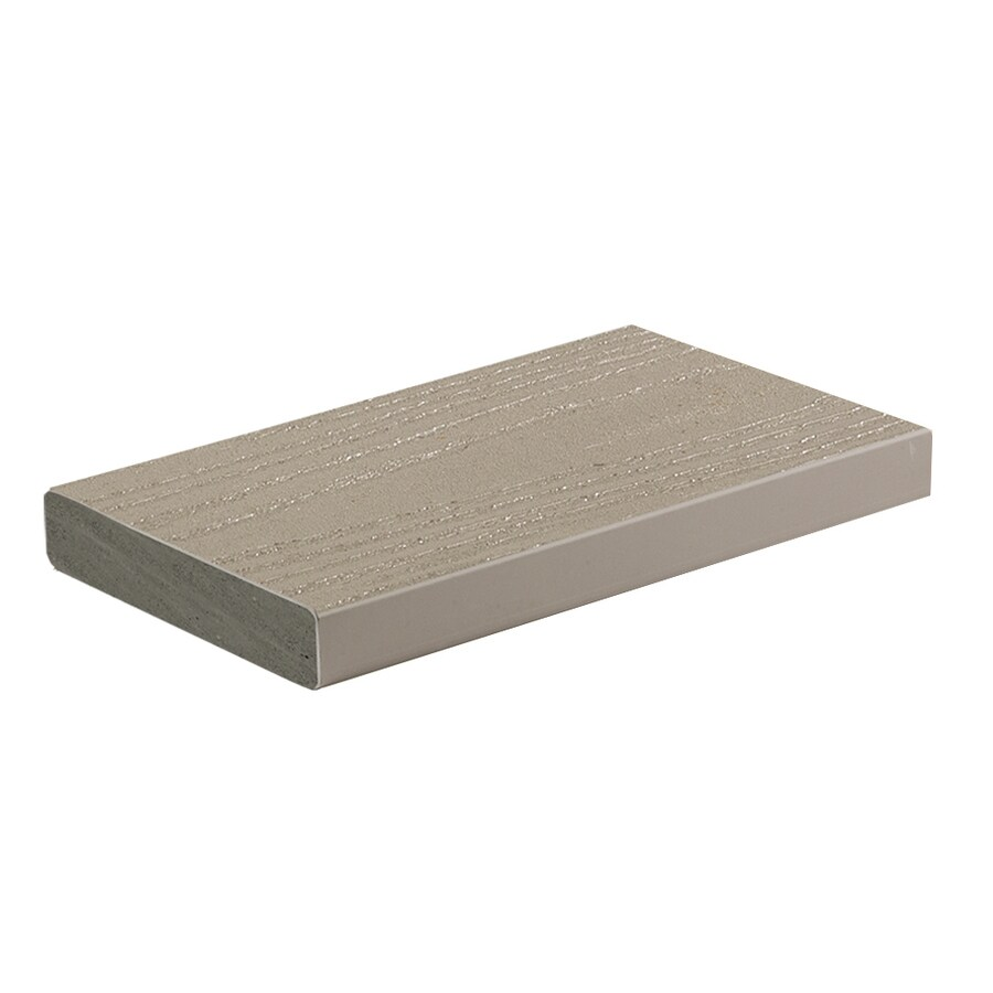 AZEK (Actual: 1-in x 5.5-in x 20-ft) Slate Gray Composite Deck Board