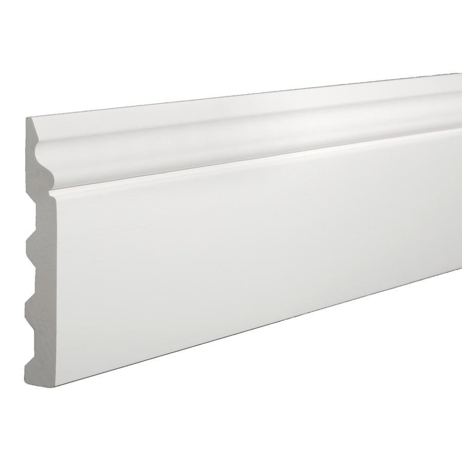 Shop Azek X 12 Ft Interior Exterior Prefinished Pvc Base Cap Moulding At