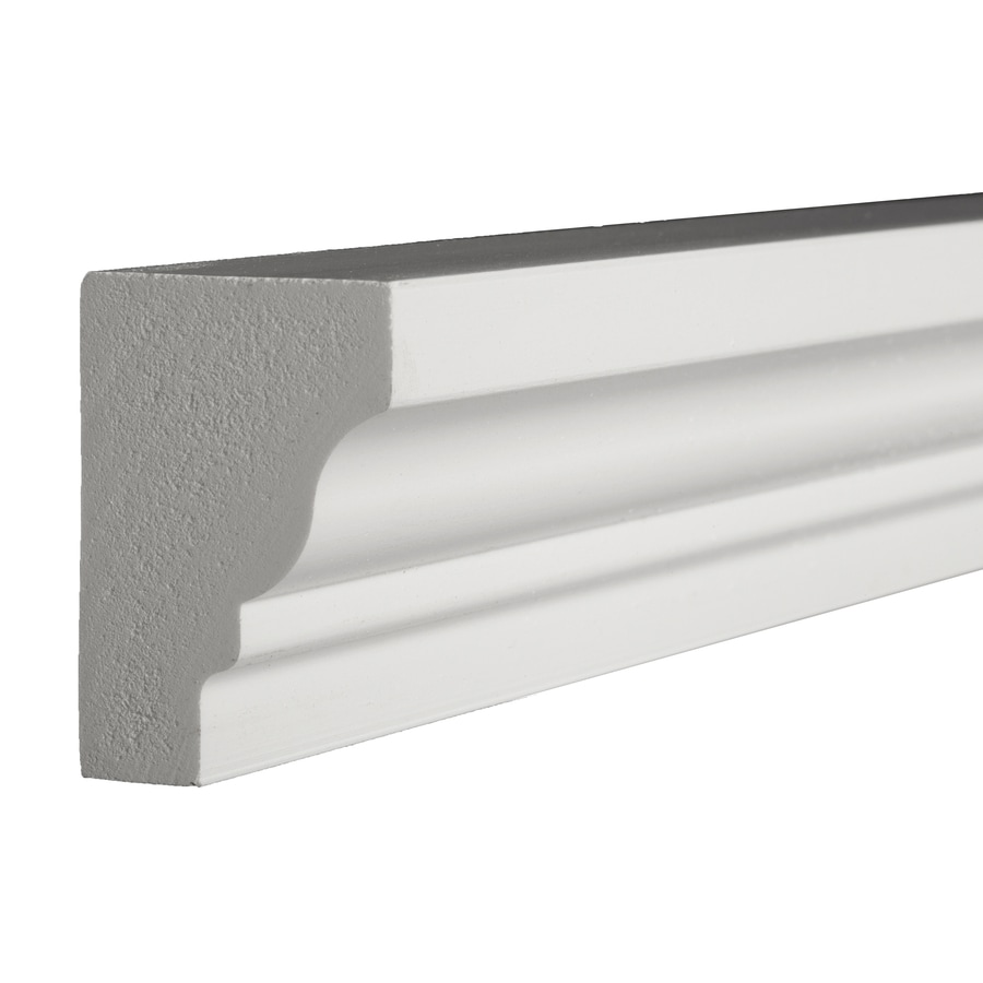 Shop Azek 2 0625 In X 12 Ft Prefinished Pvc Crown Moulding