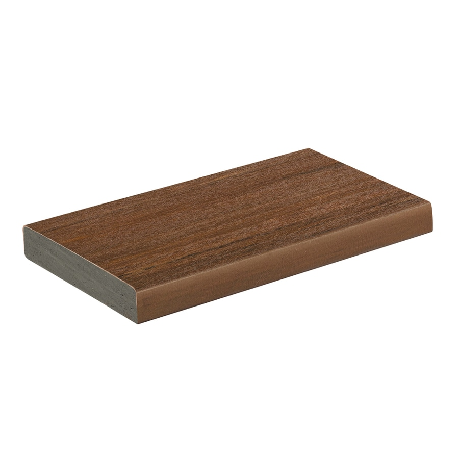 AZEK Vintage Mahogany PVC Deck Board (Actual: 1-in x 5.5-in x 16-ft)