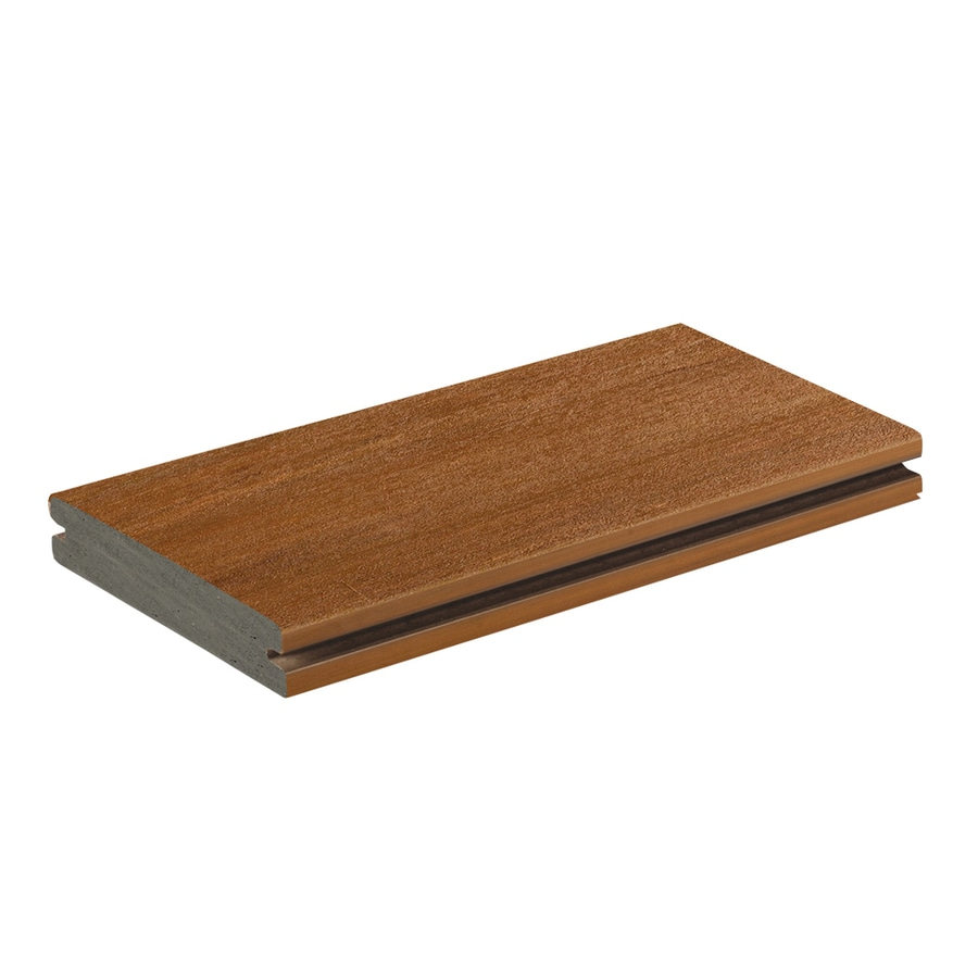 AZEK Vintage Cypress Groove PVC Deck Board (Actual: 1-in x 5.5-in x 12-ft)