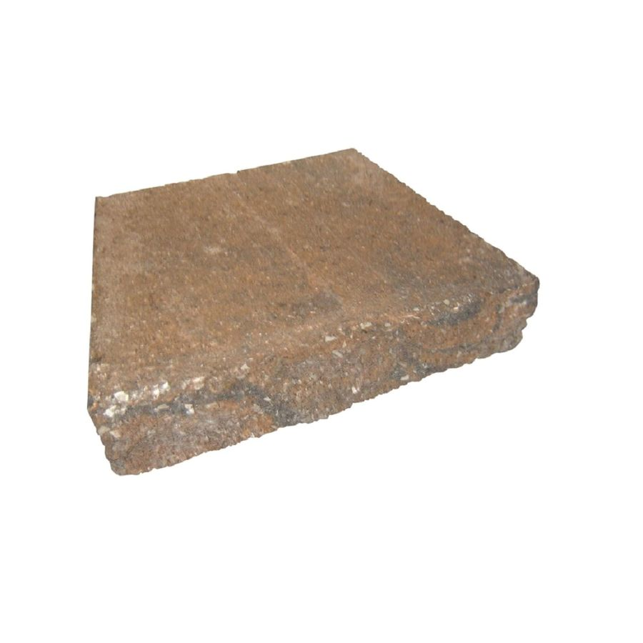 Limestone/Brown Retaining Wall Cap (Common: 9-in x 12-in; Actual: 9-in x 12-in)