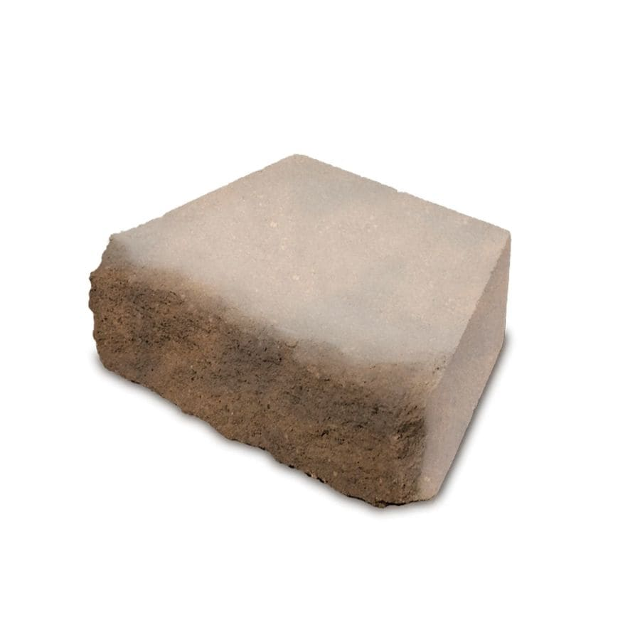 Sandstone Blend Color with Hard Splitface Texture Retaining Wall Block (Common: 6-in x 16-in; Actual: 6-in x 16-in)