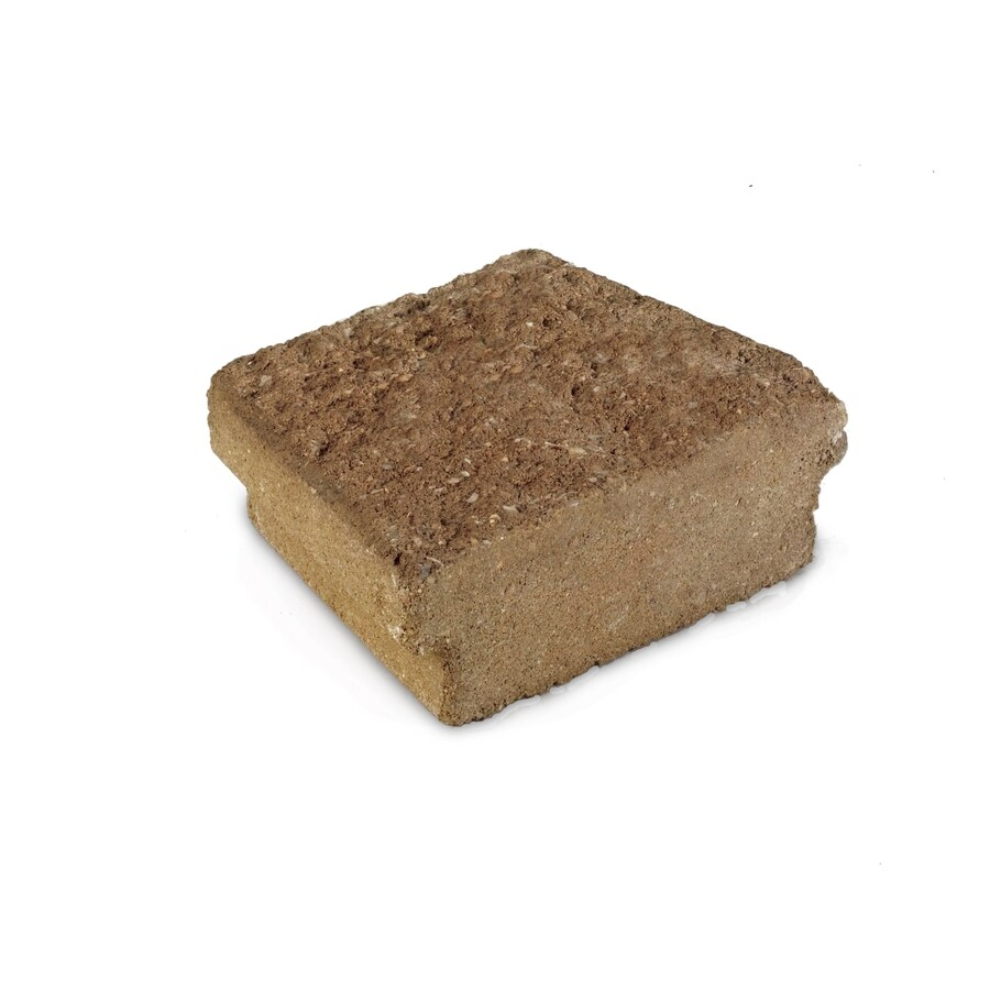 Tan/Hard Split Texture Straight Edging Stone (Common 5-in x 8-in; Actual: 5-in x 8.09-in)