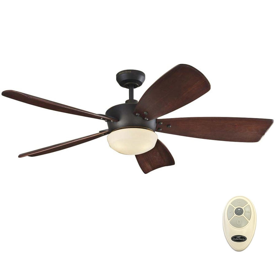 Harbor Breeze Saratoga 60 In Oil Rubbed Bronze Led Indoor
