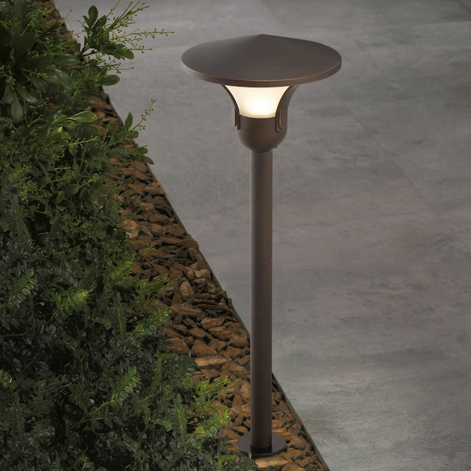 Aged Bronze Low Voltage Led Path Light