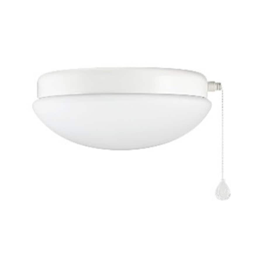 Shop ceiling fan parts accessories at lowes harbor breeze calera 1 light white led ceiling fan light kit with frosted glass energy aloadofball Image collections