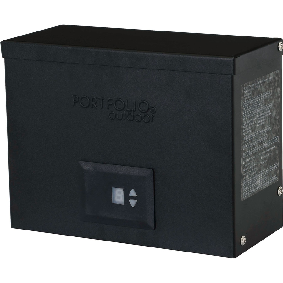Shop portfolio 300 watt 12 volt multi tap transformer for Volt landscape