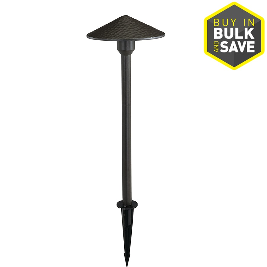 Portfolio Landscape Lighting Stakes : Portfolio watt powder coated bronze low voltage led