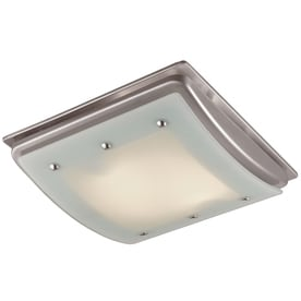 Shop bathroom fans heaters at for Bathroom exhaust fan lowes
