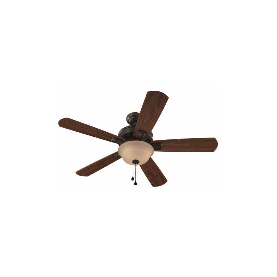 Harbor Breeze Easy Breeze 54-in Antique Bronze Multi-Position Indoor Ceiling Fan with Light Kit ENERGY STAR