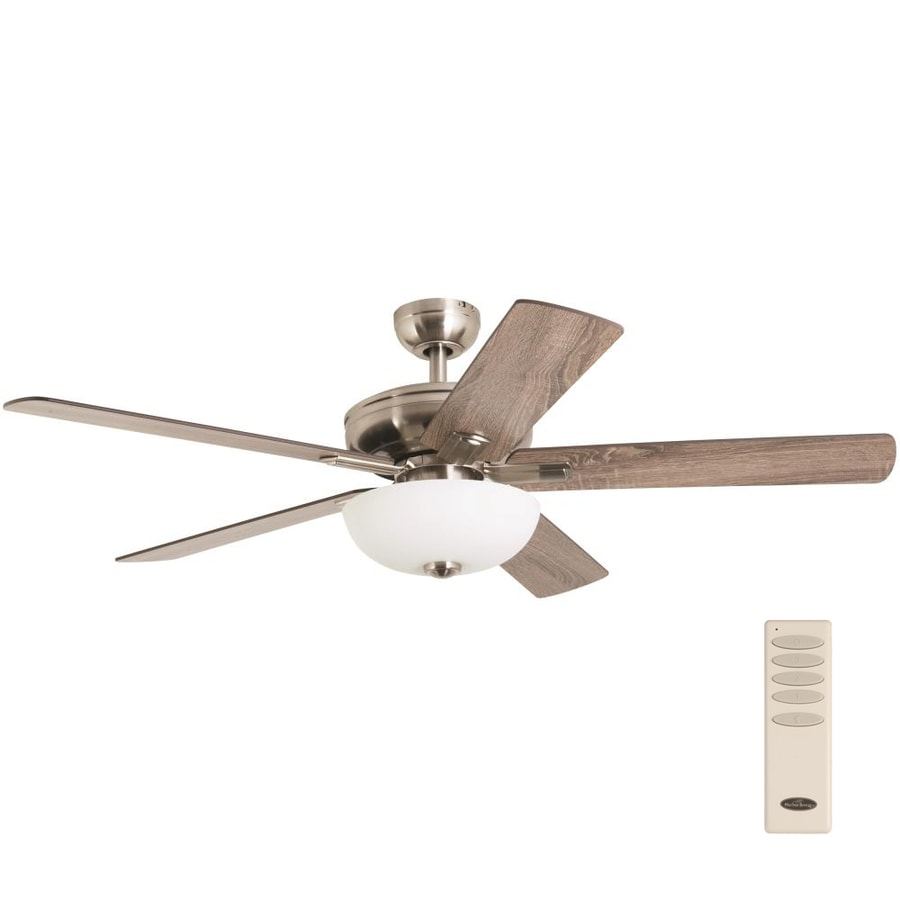 Harbor Breeze Kitilano 52 In Brushed Nickel Led Indoor