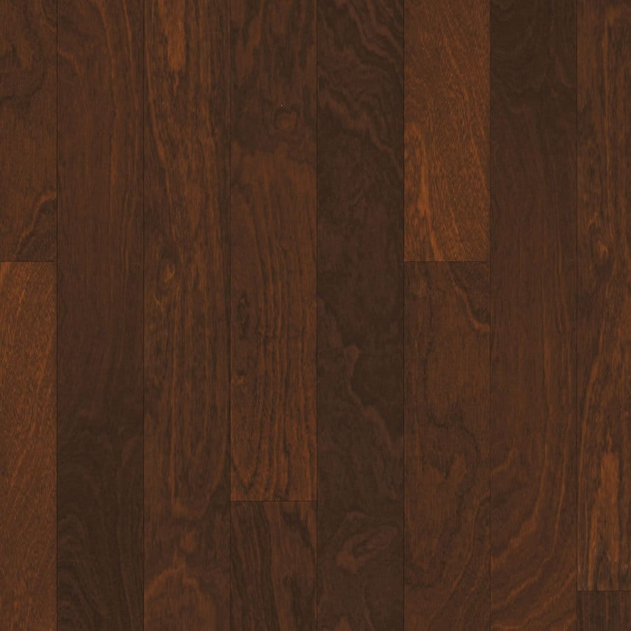 Natural Floors by USFloors 4.96-in Prefinished Natural Engineered Sapelle Hardwood Flooring (34.18-sq ft)