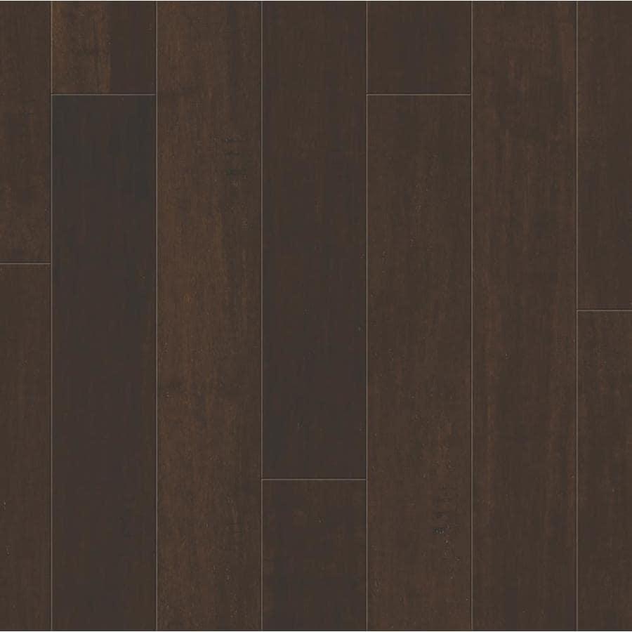 Natural Floors By USFloors Bamboo Hardwood Flooring Sample Dark Java