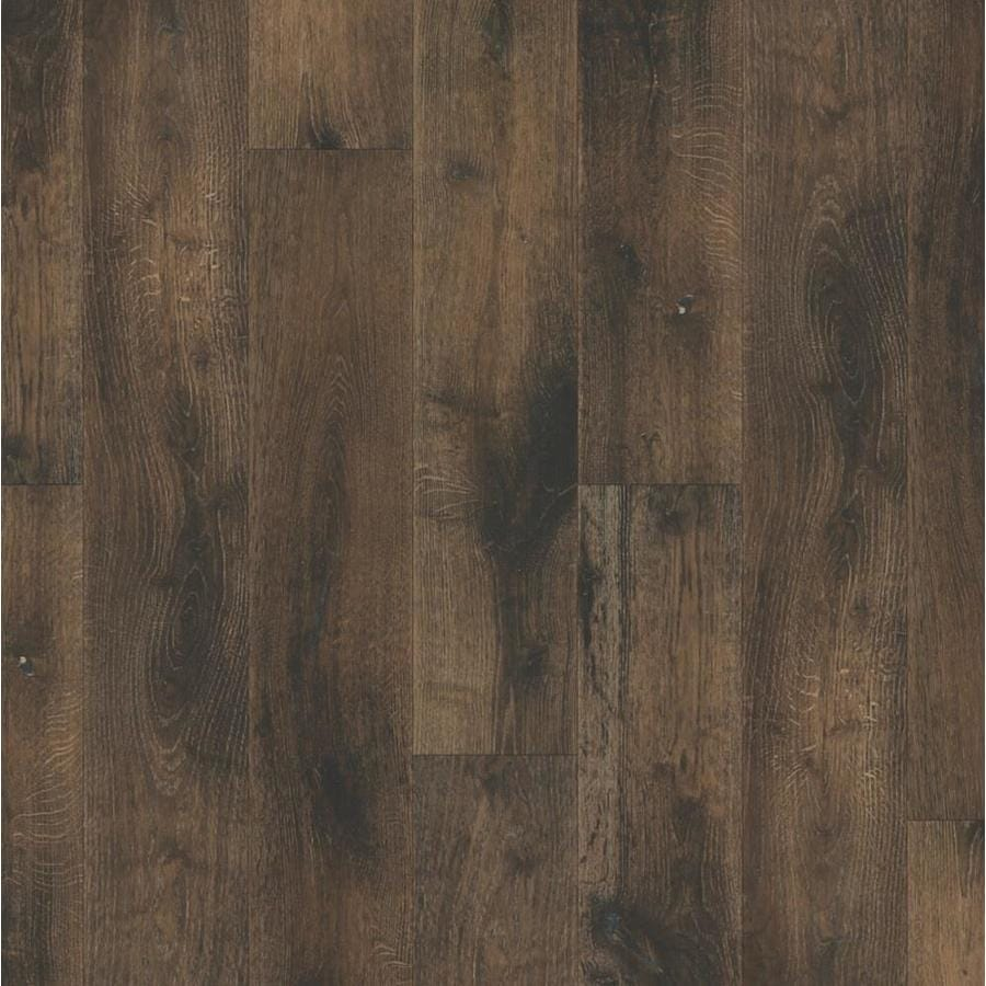 Perfect Natural Floors By USFloors Oak Hardwood Flooring Sample (Deep Smoked Oak)