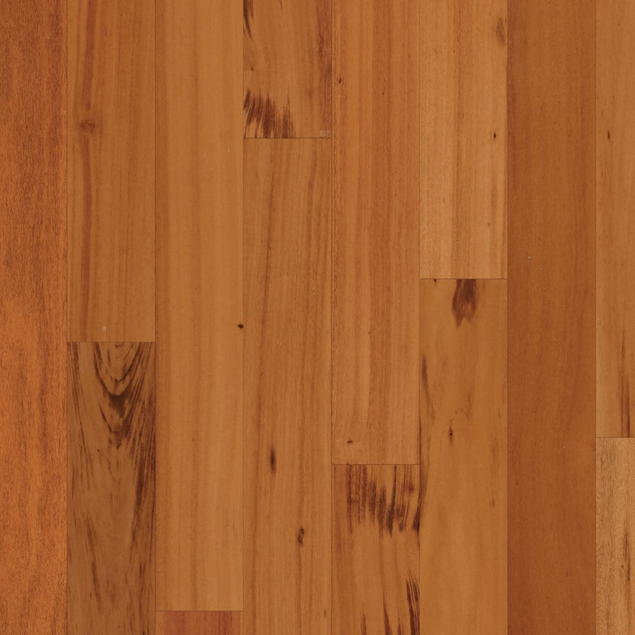 Natural Floors by USFloors 4.72-in Natural Smooth/Traditional Tigerwood Hardwood Flooring (31-sq ft)