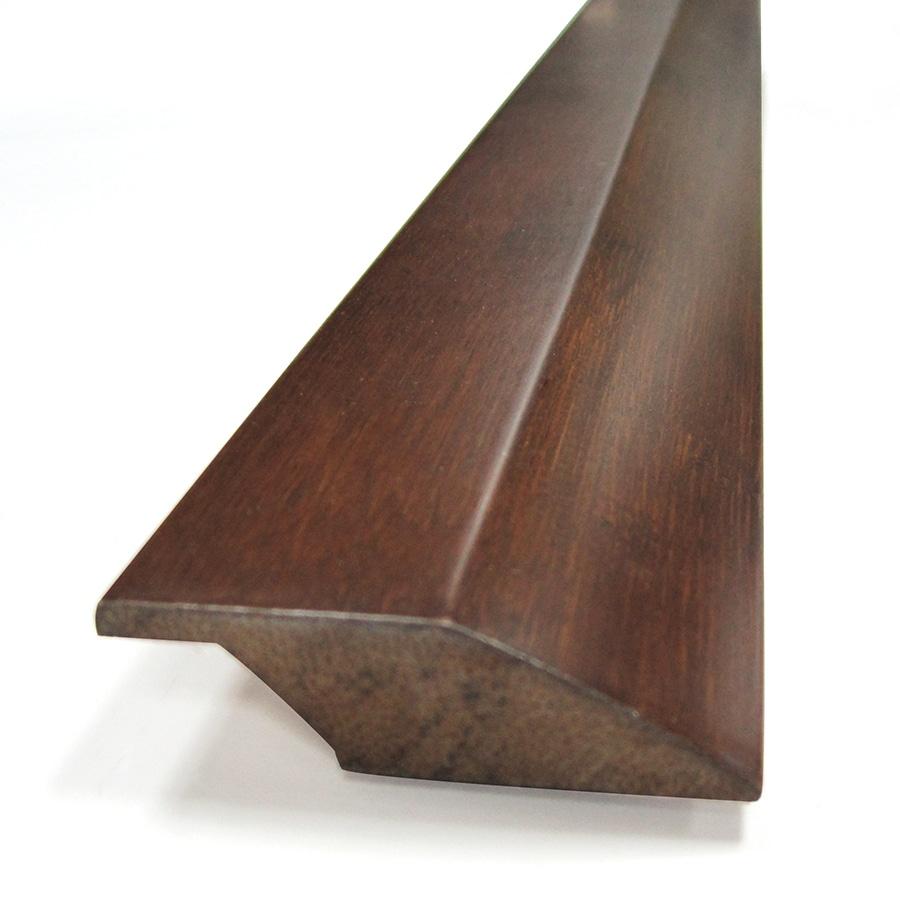 Natural Floors by USFloors 2-in x 72-in Woven Dark Java Bamboo Reducer Floor Moulding