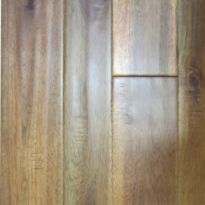 Variable Width Amber Acacia Solid Hardwood Flooring 23 8 Sq Ft