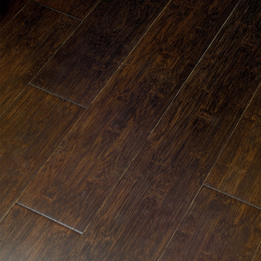 Natural Floors by USFloors 0.6-in Bamboo Hardwood Flooring Sample (Jacobean)