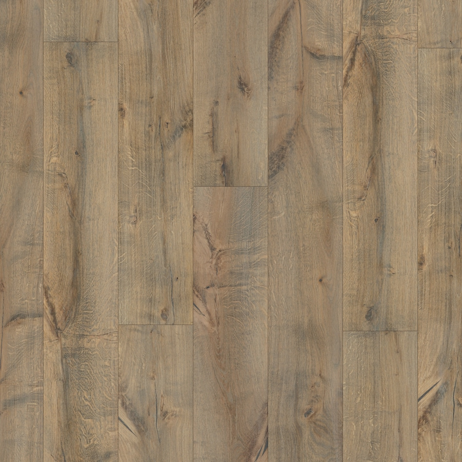 Natural Floors by USFloors Oak Hardwood Flooring Sample (Smoked Oak)