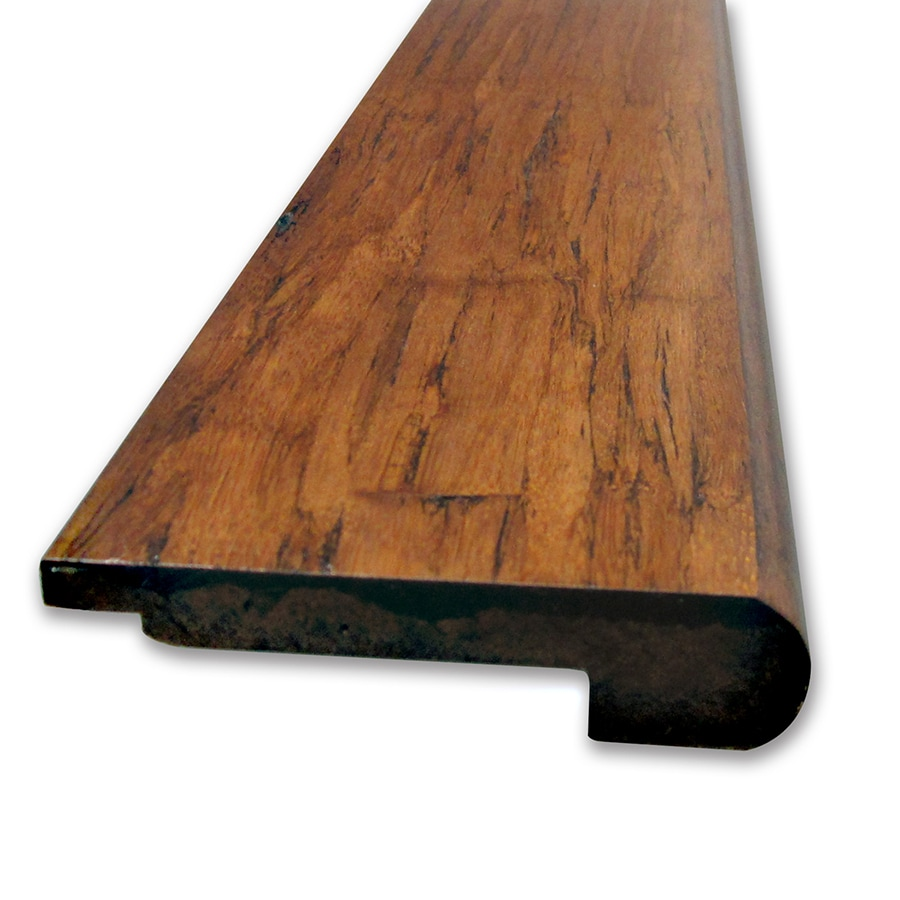 Natural Floors by USFloors 3.625-in x 72-in Vintage Antique Bamboo Stair Nose Floor Moulding