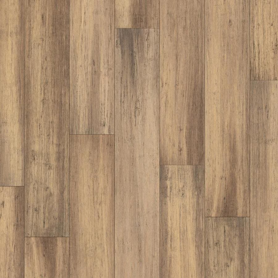 Exotic Hardwood 5 12 In Tigris Bamboo Engineered Hardwood