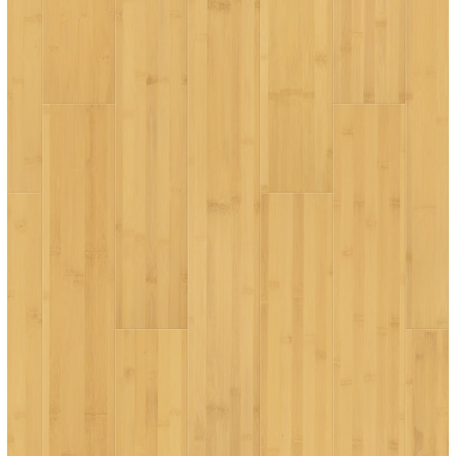 Natural Floors by USFloors 5.35-in Prefinished Natural Engineered Bamboo Hardwood Flooring (16.9-sq ft)